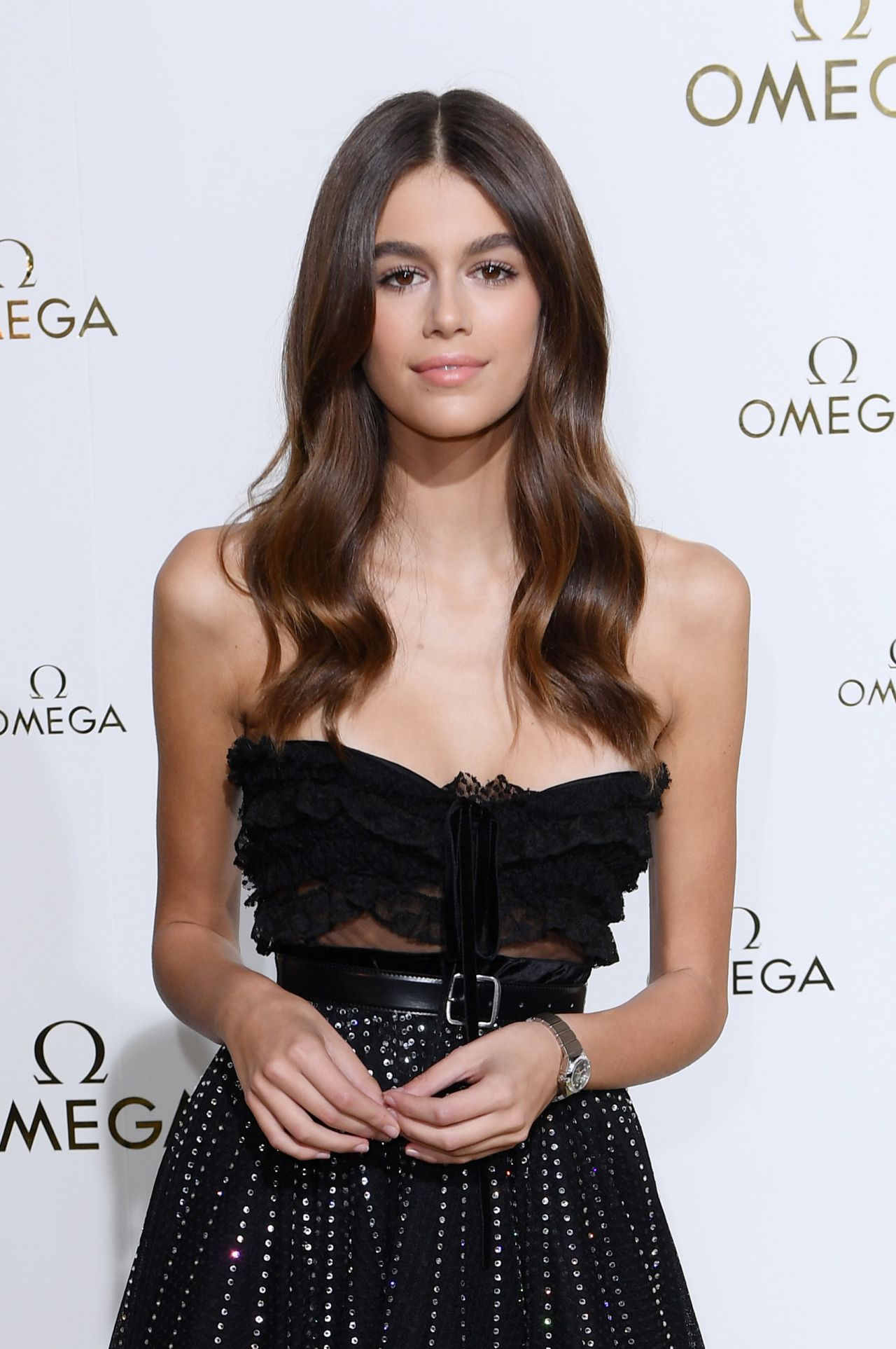 "Kaia Gerber Is Still Happening At The British Fashion Awards: ""Her Time"" Omega Photocall, PFW In Paris 09"