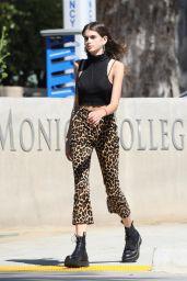 Kaia Gerber is Stylish - Santa Monica College in Santa Monica 10/07/2017