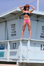Karina Smirnoff in Bikini - Santa Monica 10/29/2017
