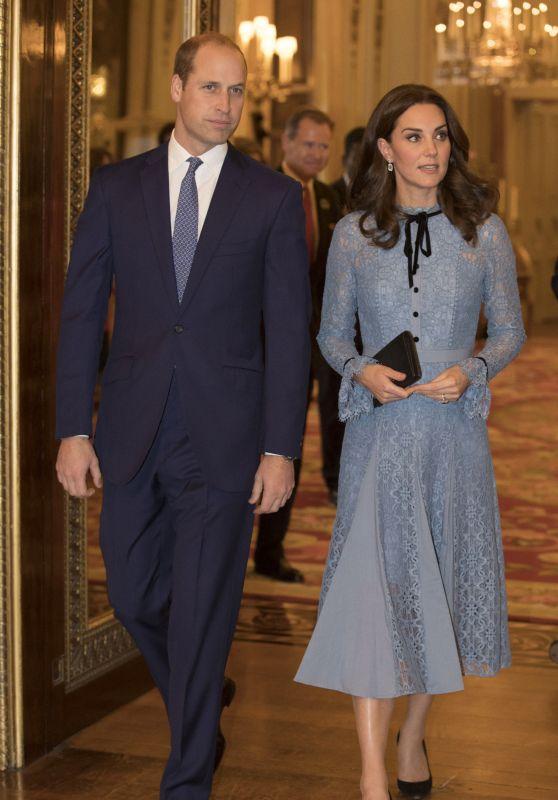 Kate Middleton - Celebrating World Mental Health Day at Buckingham Palace 10/10/2017Kate Middleton - Celebrating World Mental Health Day at Buckingham Palace 10/10/2017