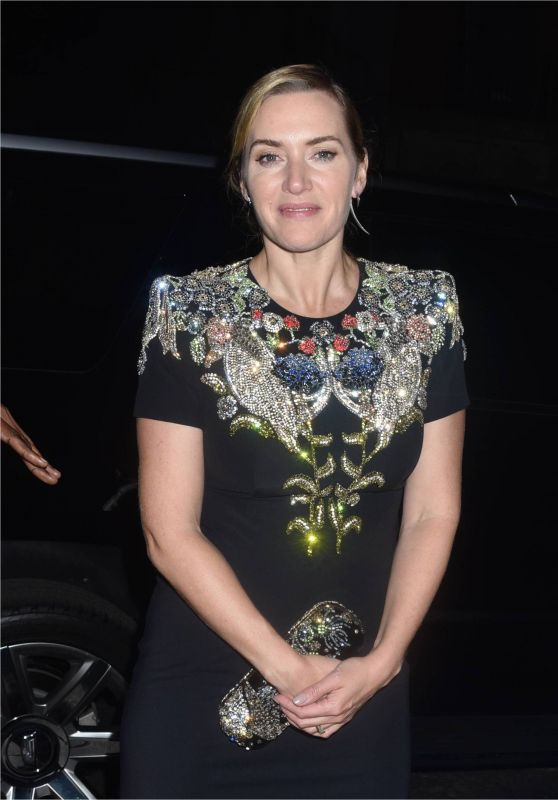 "Kate Winslet and Ned Rocknroll - ""Wonder Wheel""Screening in New York City 10/14/2017"