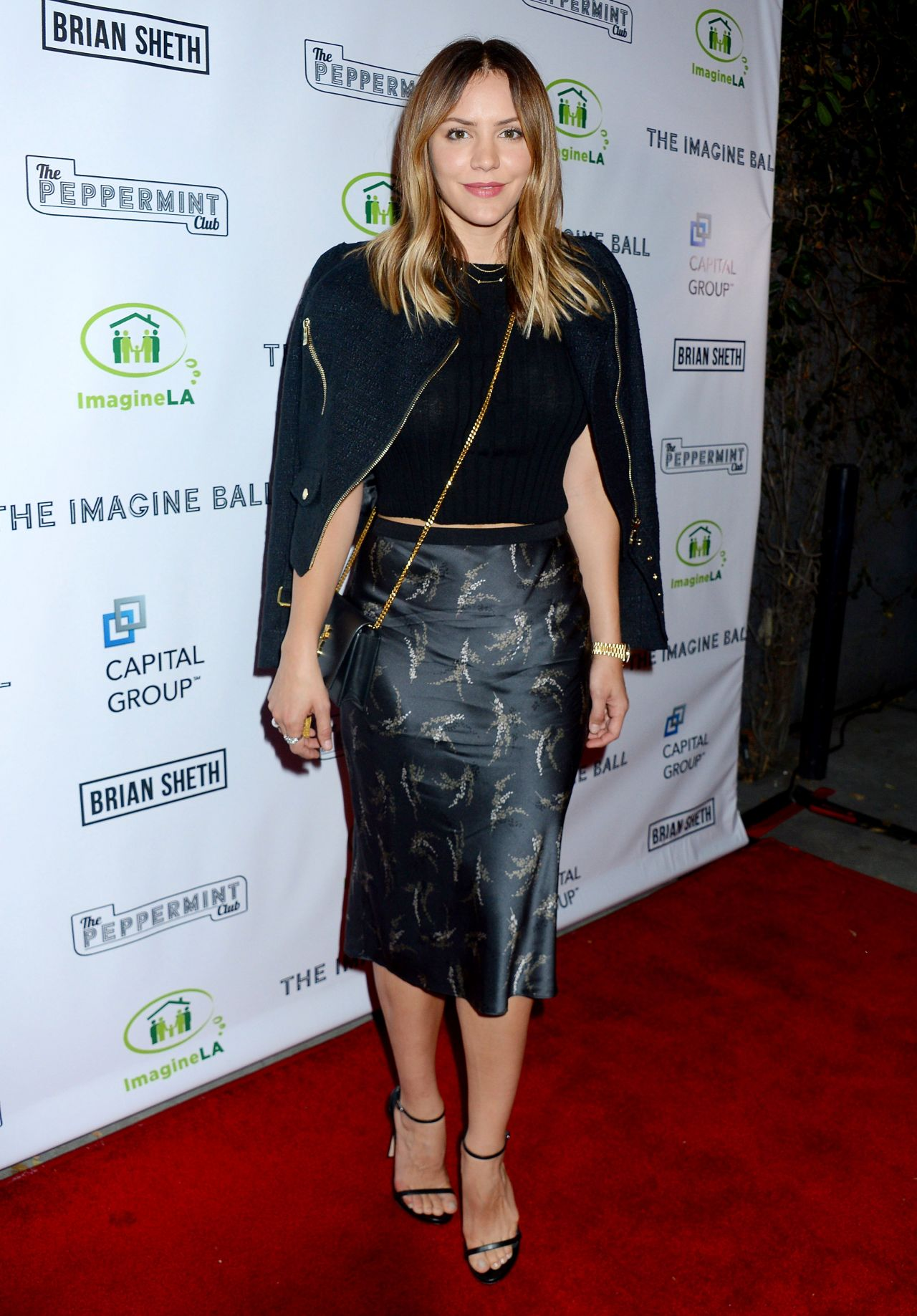 Katharine McPhee – The Imagine Ball in Los Angeles