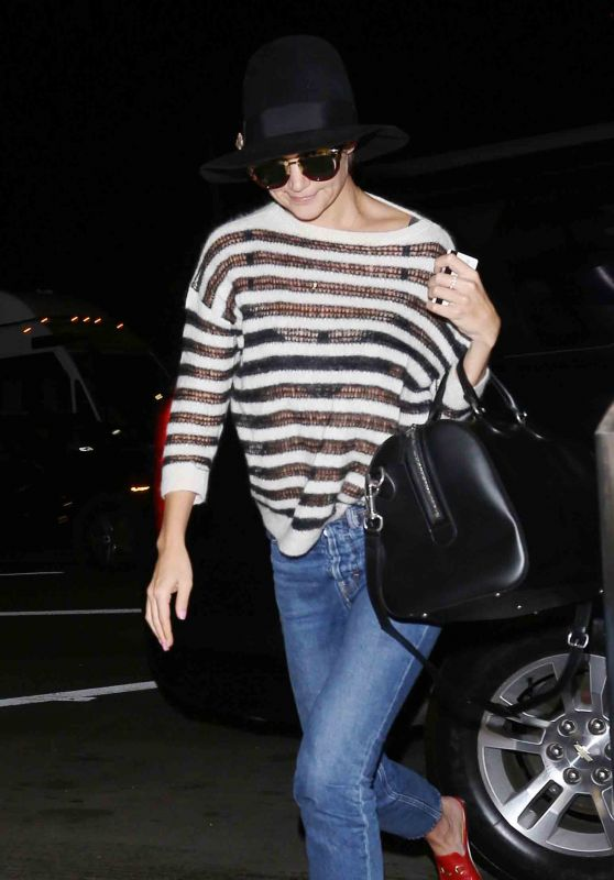 Katie Holmes at LAX Airport in LA 10/19/2017