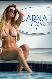 Katie Salmon Hot in Bikini - Carnatic Spa in Liverpool