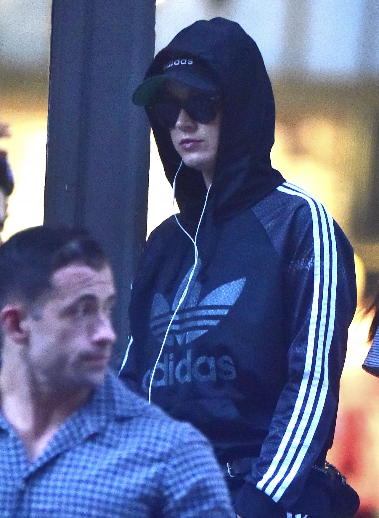 Katy Perry - Shopping at an Adidas Store in NYC