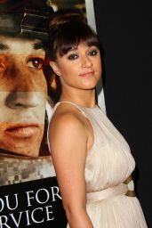 """Keisha Castle-Hughes – """"Thank You For Your Service"""" Premiere in Los Angeles"""