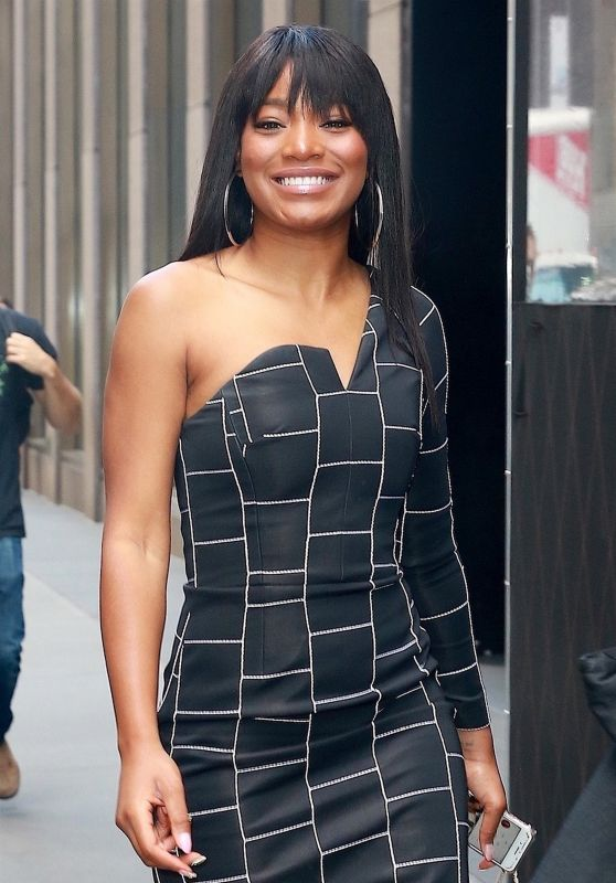 Keke Palmer - Arriving at Sirius XM in NYC 10/10/2017