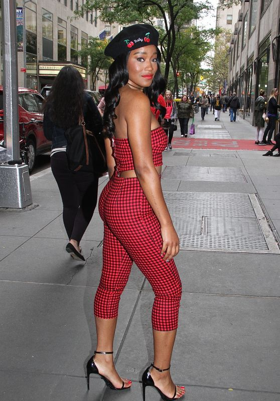 Keke Palmer Style - Leaving NBC Studios in NYC