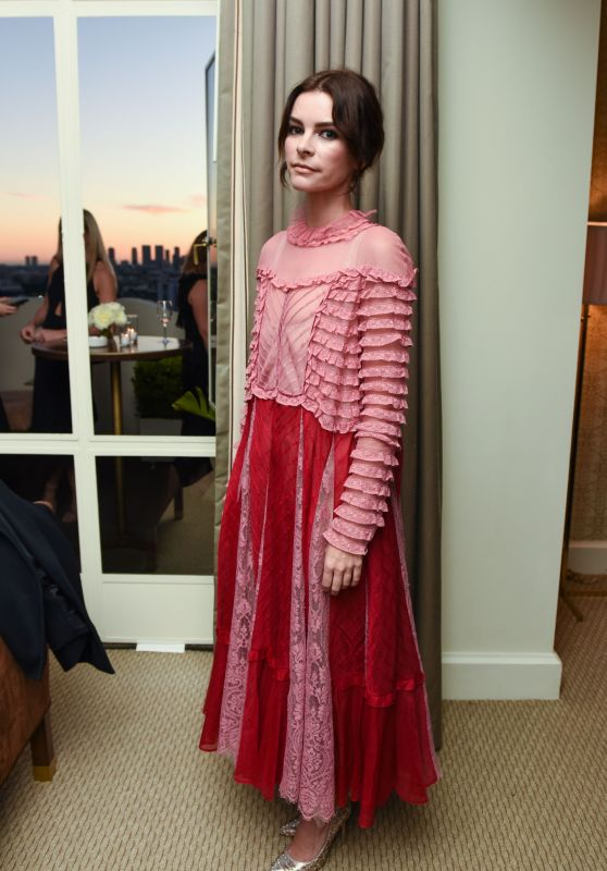 Kelly Oxford – Valentino and InStyle Cocktail Party in Los Angeles