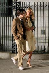 Kelly Rohrbach - on Set of Woody Allen