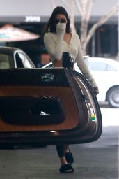 Kendall Jenner Camera Shy - Out in Beverly Hills, CA 10/30/2017