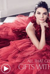 Kendall Jenner - Estee Lauder Holiday 2017