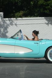 Kendall Jenner - Takes Her $100K Vintage Chevrolet for a spin in Beverly Hills 10/08/2017