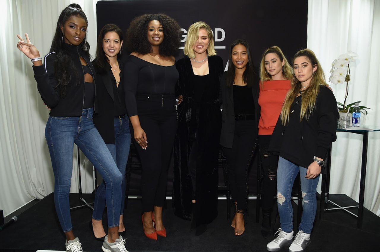 Khloe Kardashian - Celebrates the Launch of Good American in NYC 10/28/2017