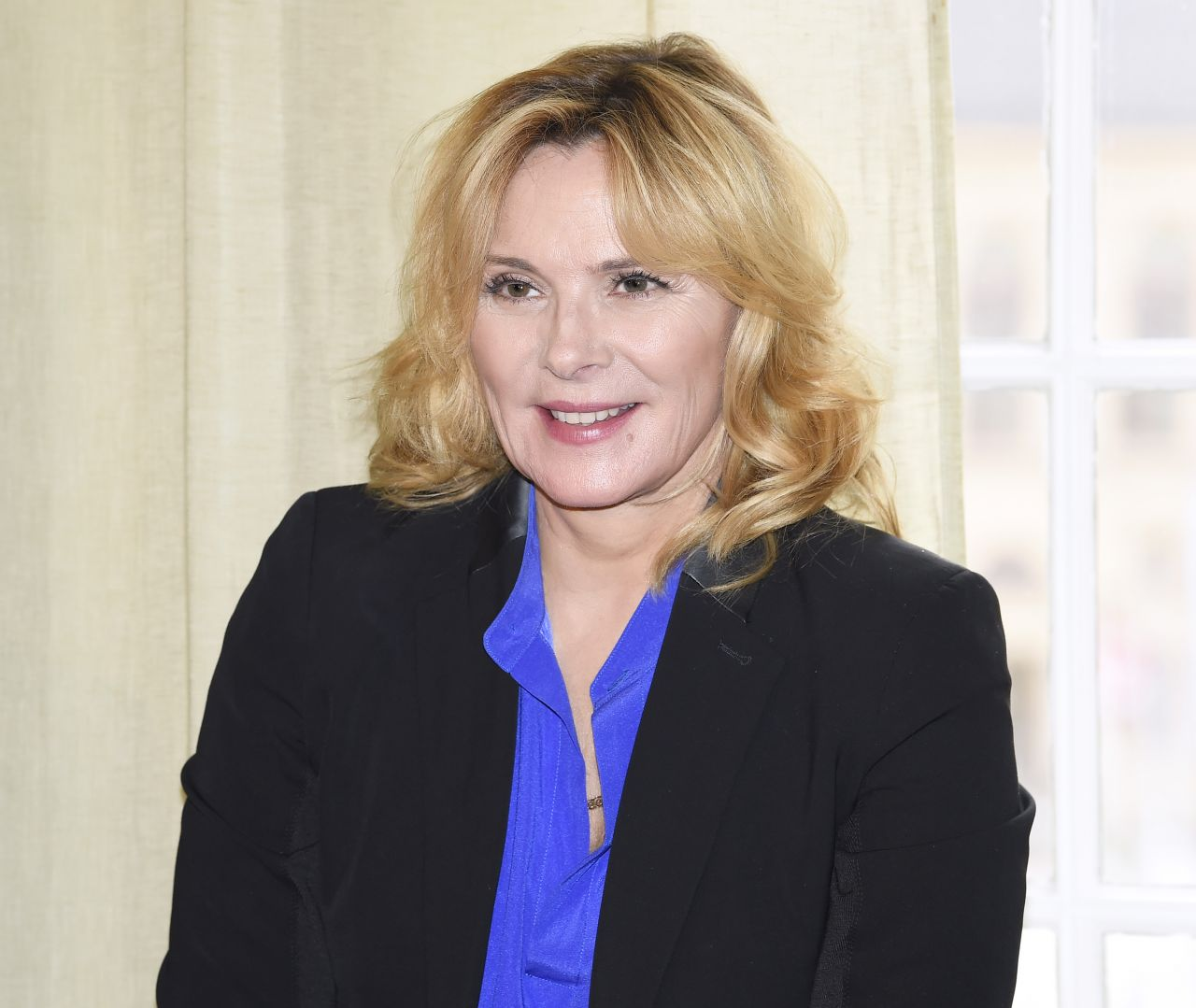 "Kim Cattrall - ""Modus"" TV Show Photocall in Stockholm 09/29/2017"