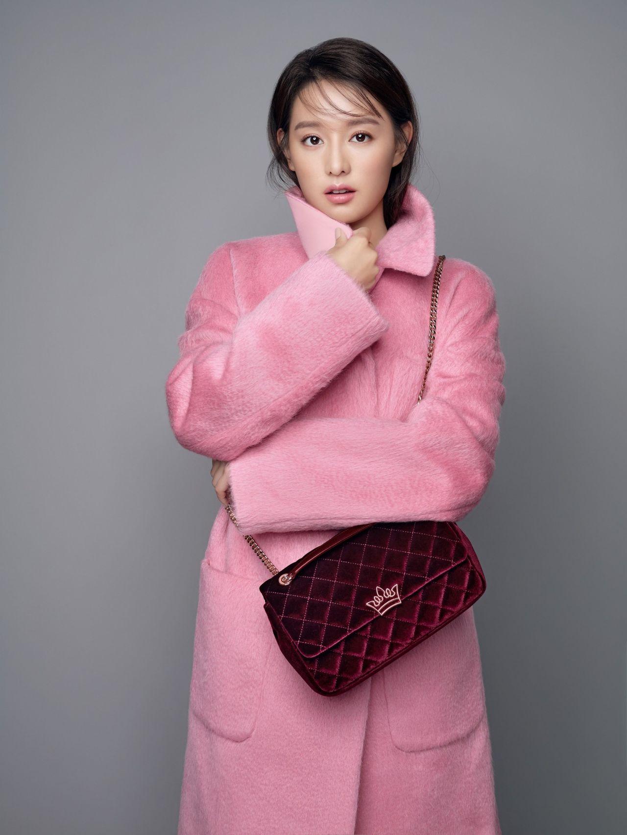 Kim Ji Won Photoshoot For J Estina Handbags Fall Winter 2017