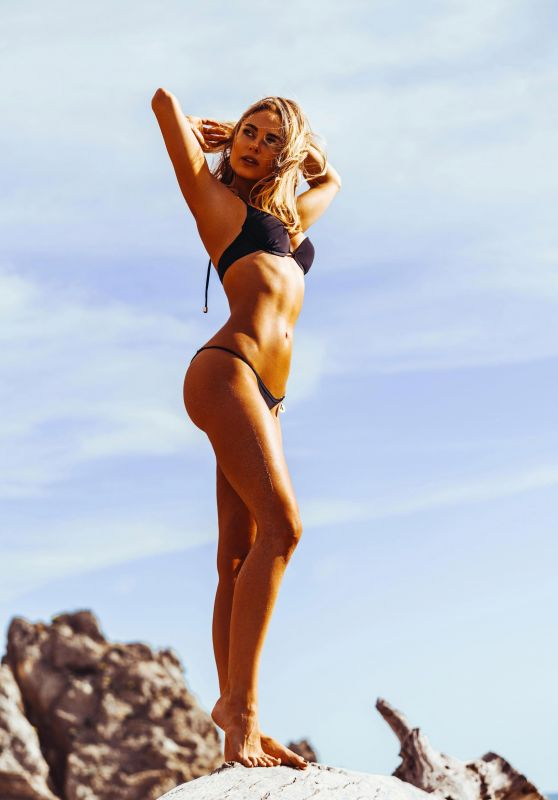 Kimberley Garner Bikini Photoshoot - Beach in Ibiza 10/08/2017