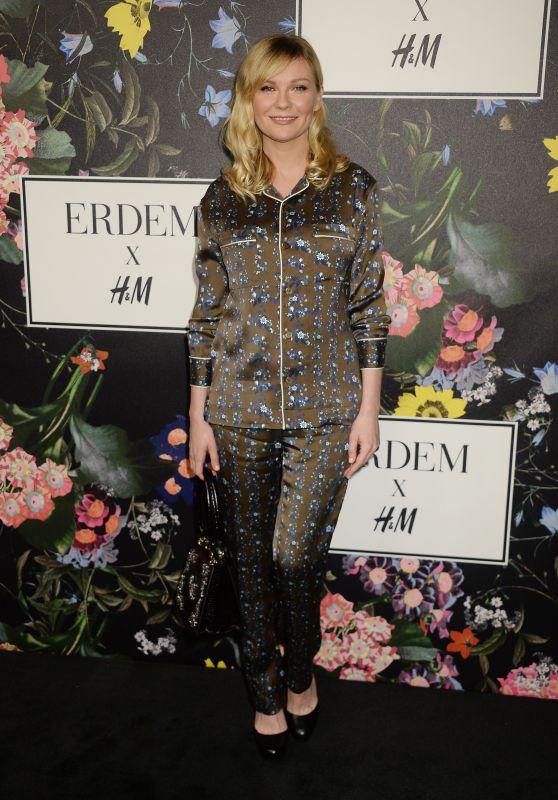 Kirsten Dunst – Erdem x H&M Launch Event in LA