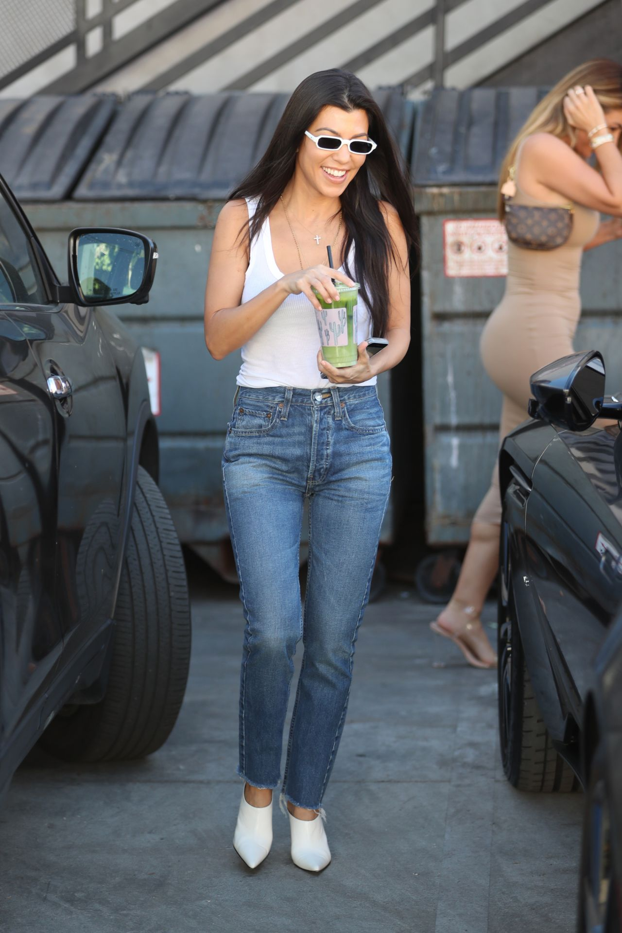 Kourtney Kardashian and Larsa Pippen - Alfred Tea Room on Melrose Place in West Hollywood 10/23/2017