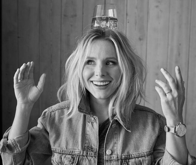 Kristen Bell - Fossil Ad 2017 Photoshoot