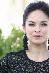 """Kristin Kreuk - """"Burden of Truth"""" Photocall at MipCom 2017 in Cannes 10/16/2017"""