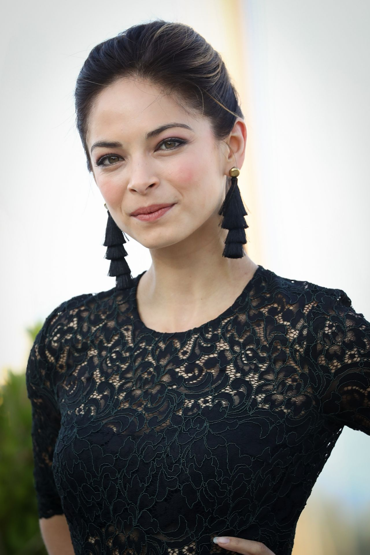 "Kristin Kreuk - ""Burden of Truth"" Photocall at MipCom 2017 ..."