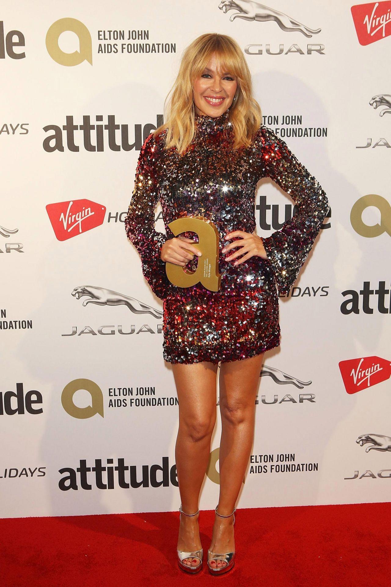 Kylie Minogue - Attitude Magazine Awards 2017 in London
