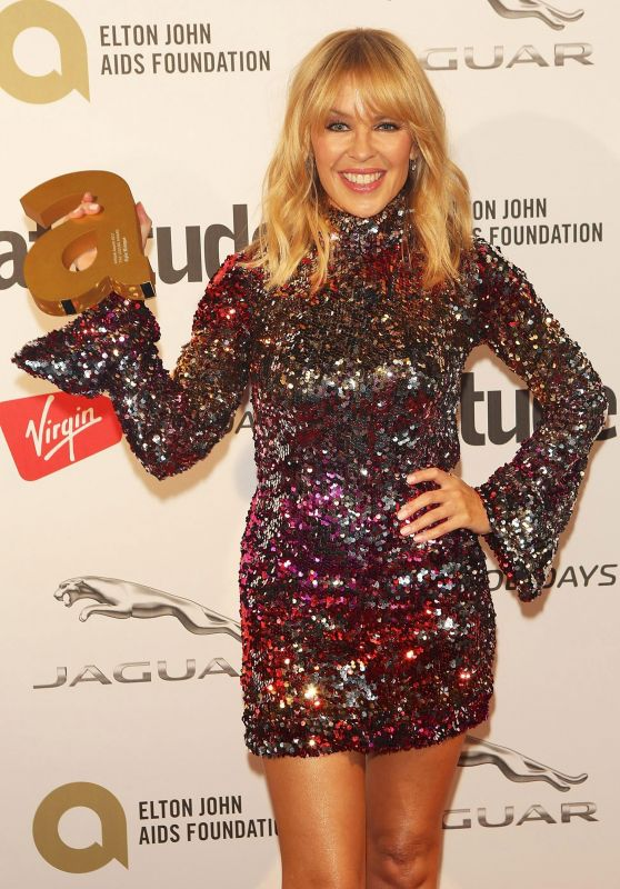 Kylie Minogue - Attitude Magazine Awards 2017 in London