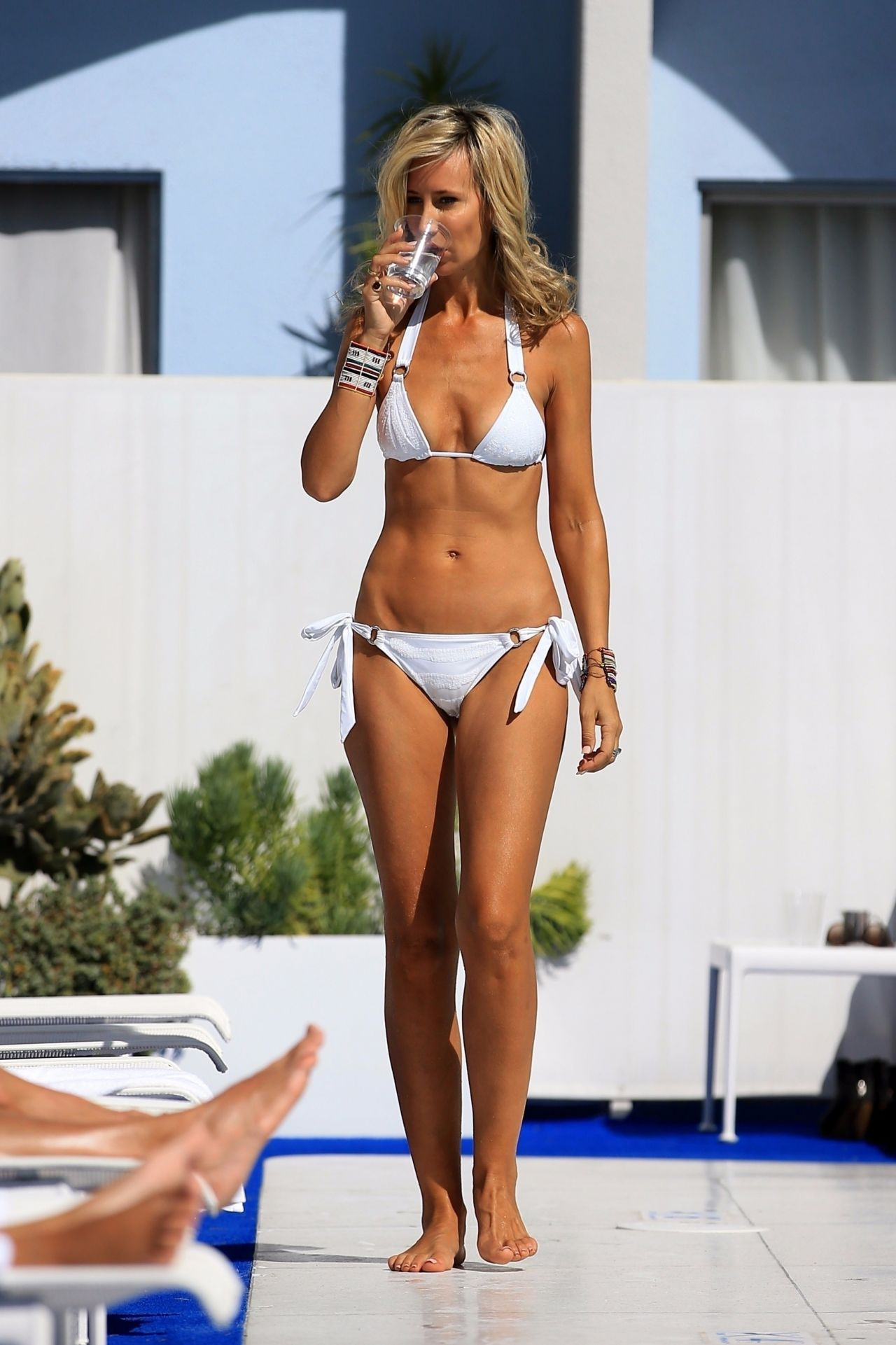 Lady Victoria Hervey in Bikini at the Standard Hotel in West Hollywood 10/11/2017