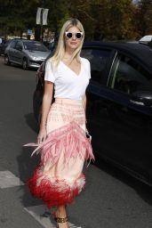 Lala Rudge – Elie Saab Fashion Show in Paris 09/30/2017