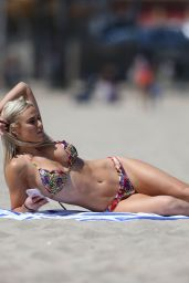 Lana in Bikini - Beach in Los Angeles 10/23/2017