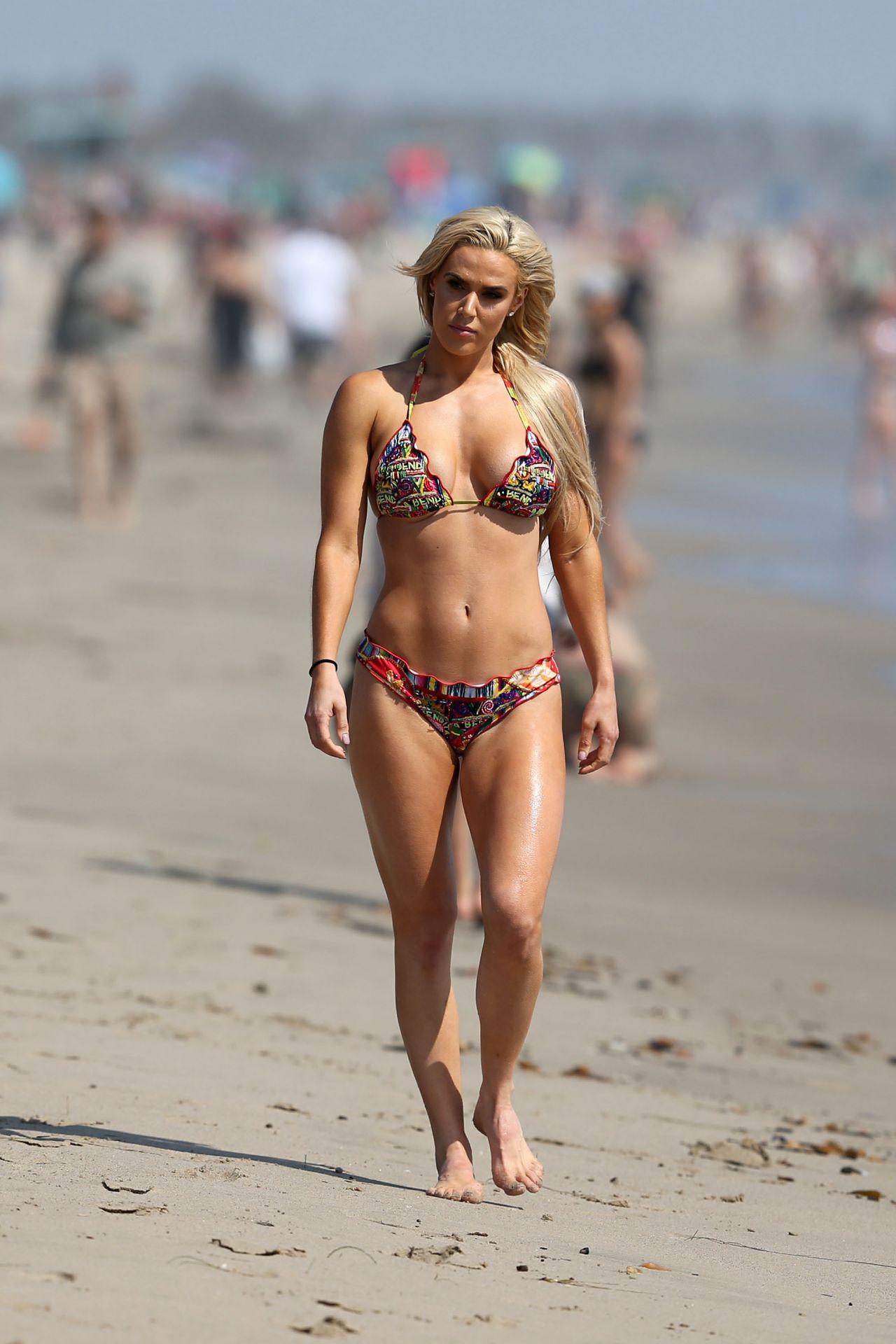 Lana In Bikini Beach In Los Angeles 10 23 2017