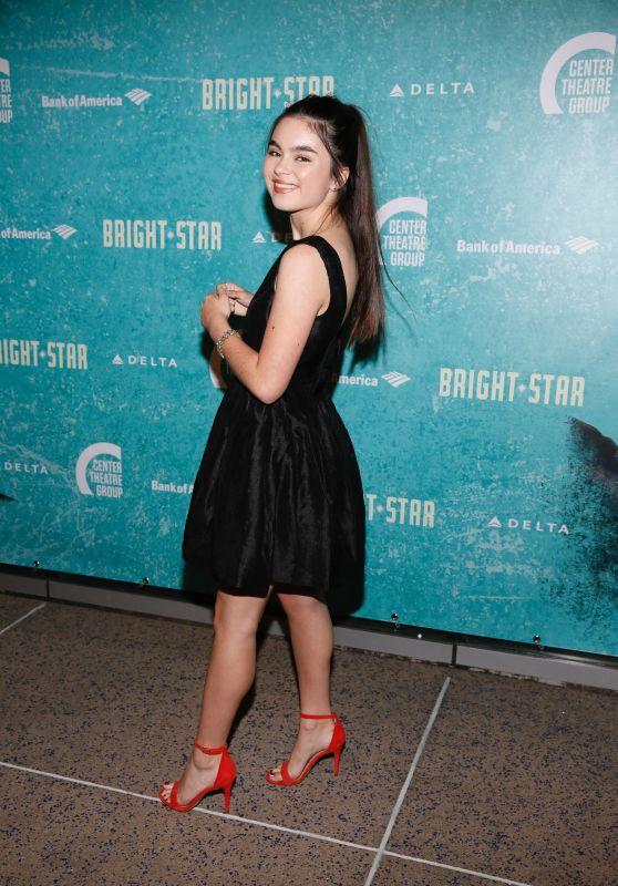 "Landry Bender – ""Bright Star"" Opening Night Performance in Los Angeles 10/20/2017"
