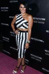 Laura Govan – PrettyLittleThing By Kourtney Kardashian Launch in West Hollywood
