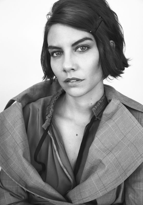 Lauren Cohan - Interview Magazine October 2017 Photos