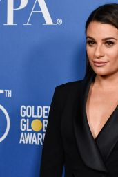Lea Michele - Hollywood Foreign Press Assocation Panel Discussion in Los Angeles 10/26/2017