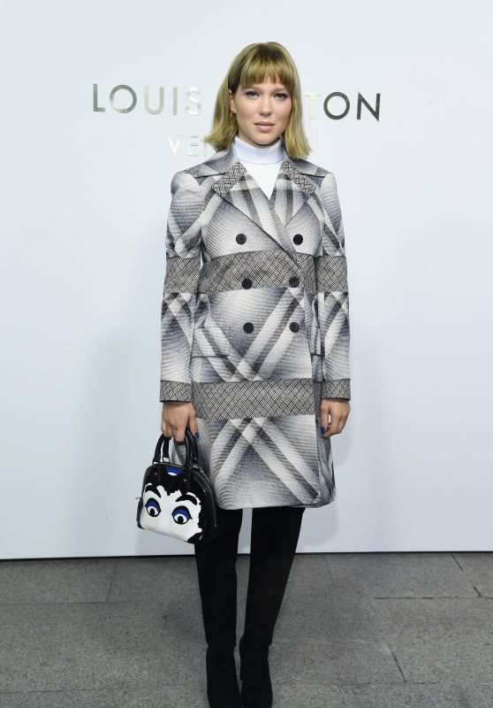 Lea Seydoux – Louis Vuitton's Boutique Openingin Paris 10/02/2017