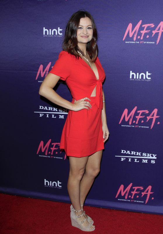 "Leah McKendrick – ""M.F.A."" Screening in Los Angeles 10/02/2017"