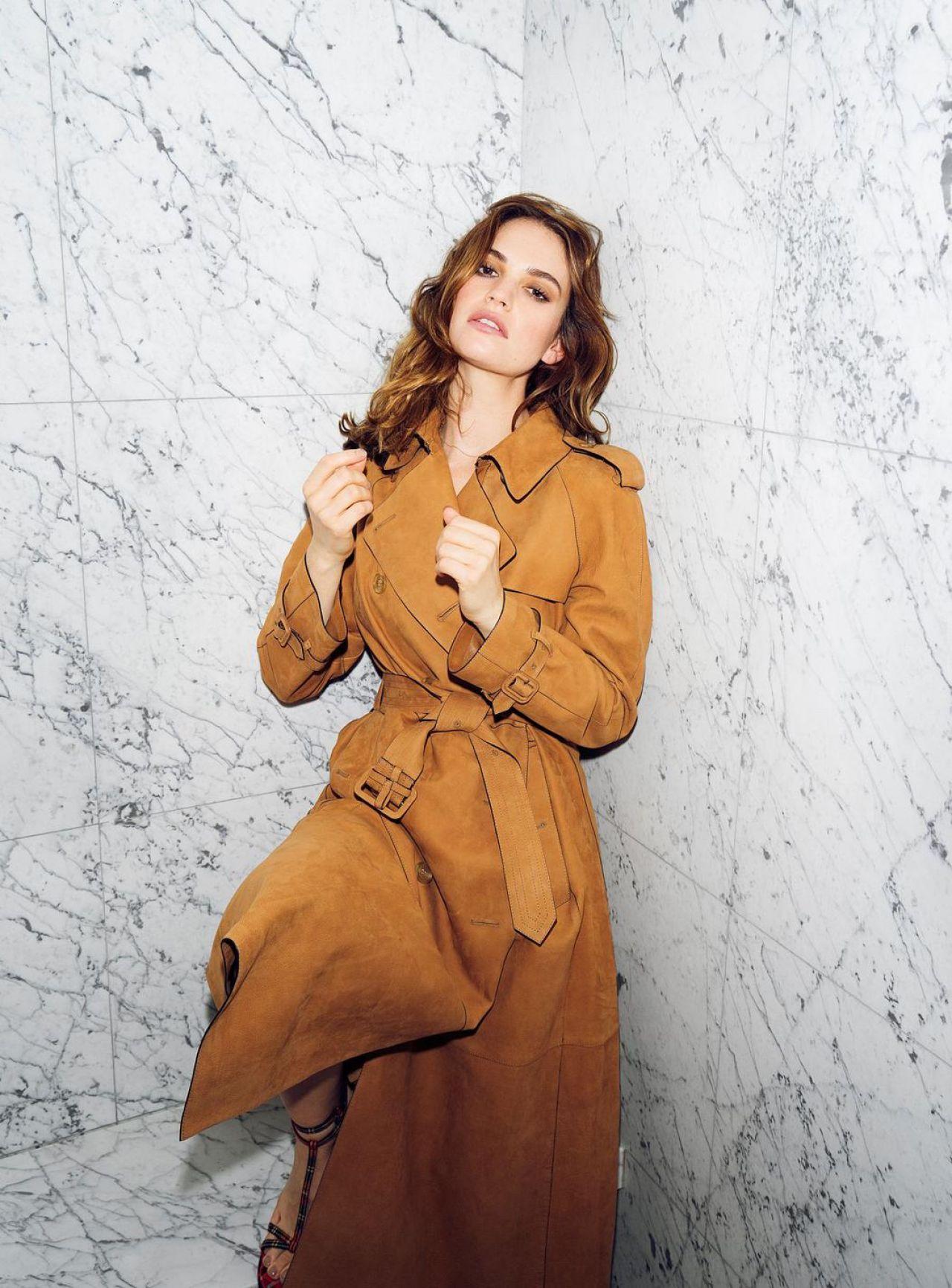Lily James - Madame Figaro Photoshoot 2017