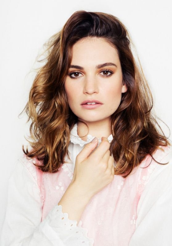 Lily James - Madame Figaro Photoshoot 2017