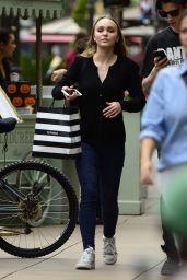 Lily-Rose Depp - Shops in LA 10/30/2017