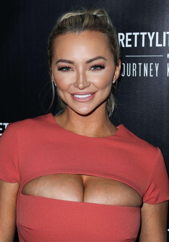 Lindsey Pelas – PrettyLittleThing By Kourtney Kardashian Launch in West Hollywood