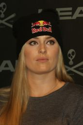 Lindsey Vonn - Press Conference in Solden 10/26/2017