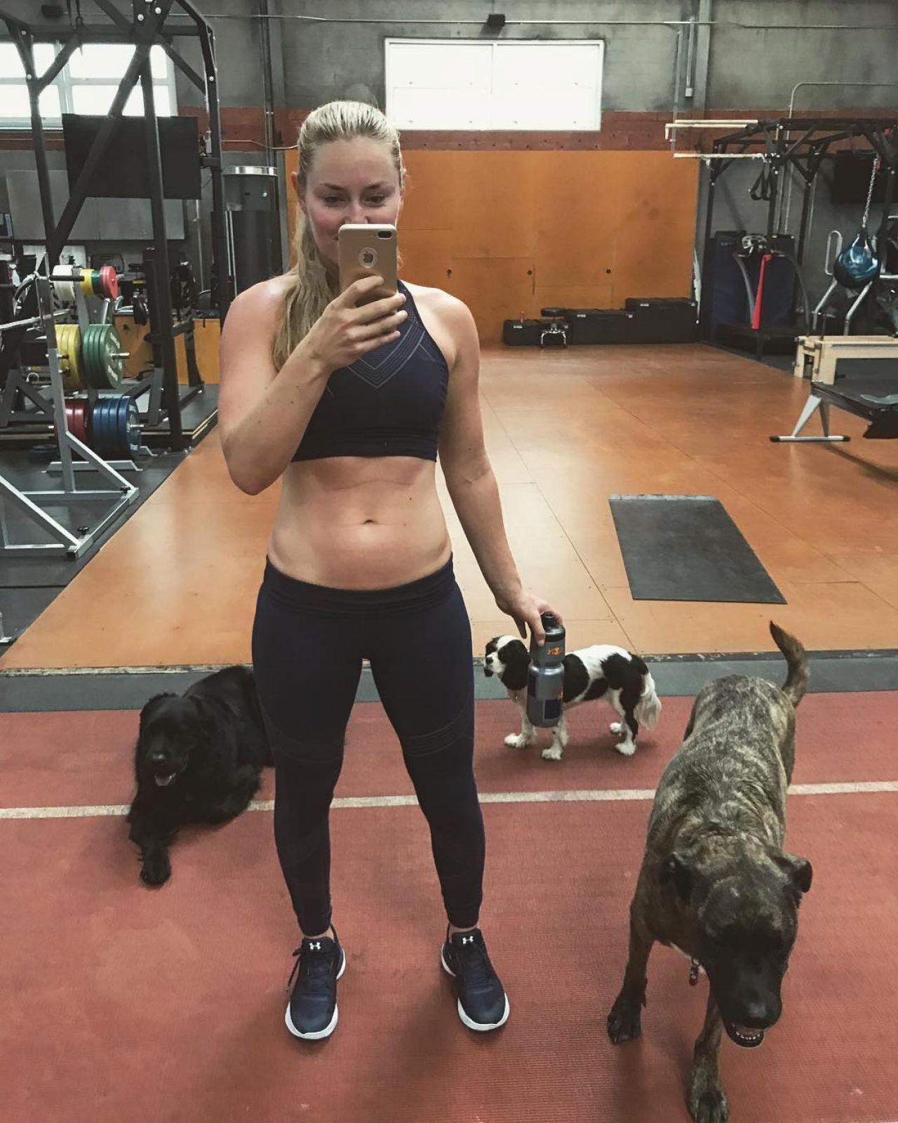 Lindsey Vonn – Social Media Images 10/12/2017