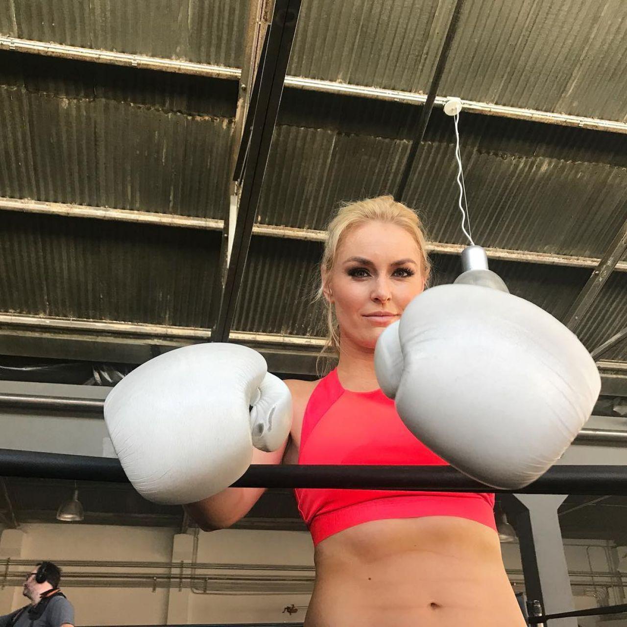 Lindsey Vonn - Social Media Pics 10/30/2017
