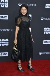 "Lisa Edelstein – ""The Walking Dead"" 100th Episode Premiere in Los Angeles"