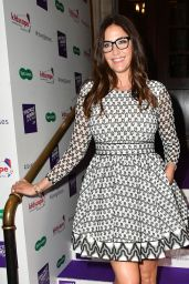 "Lisa Snowdon - Specsavers ""Spectacle Wearer of the Year"" in London 10/10/2017"