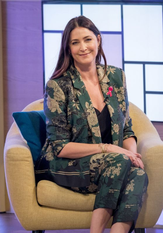 Lisa Snowdon – This Morning TV Show in London 10/24/2017