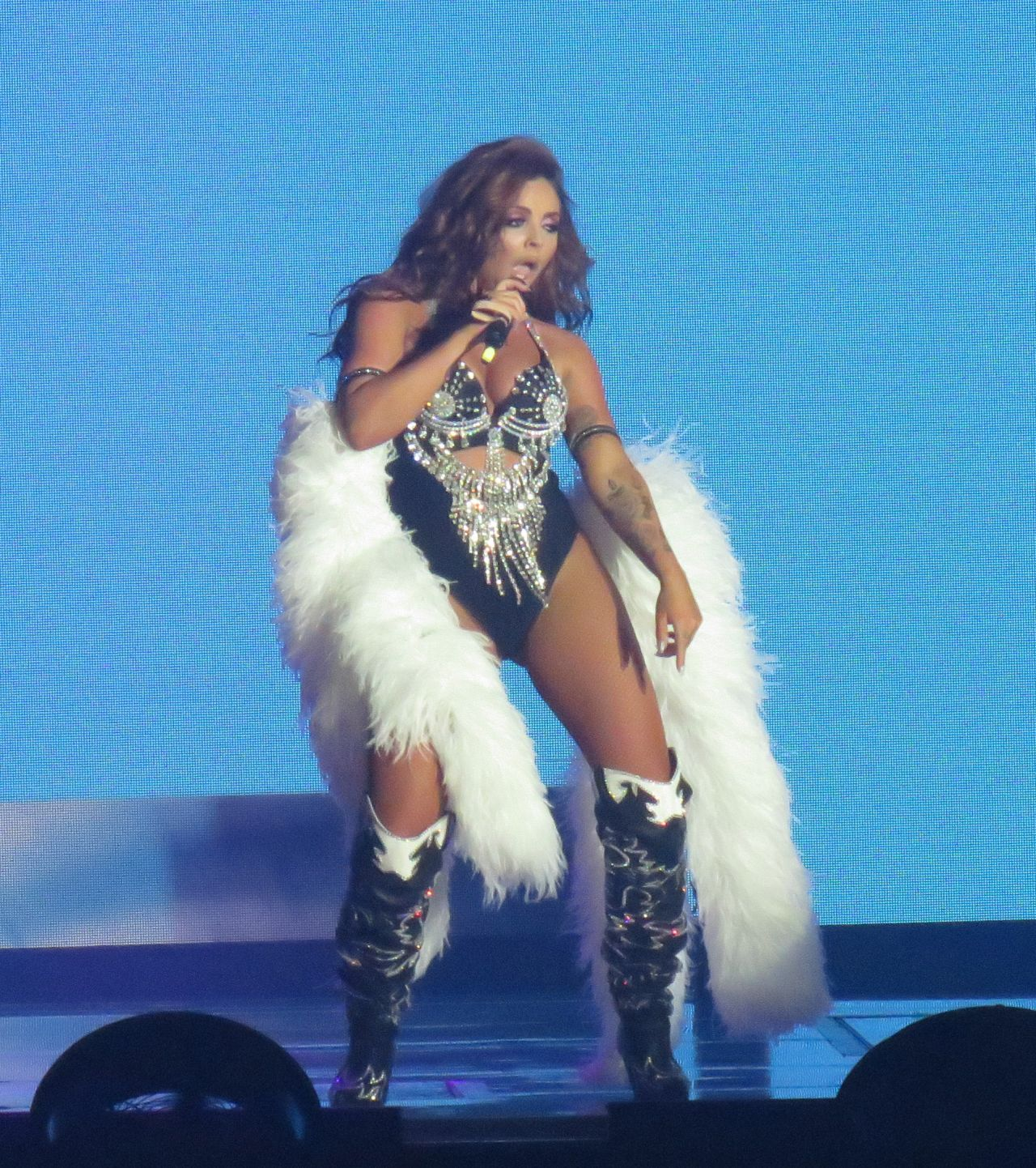 """Little Mix -Performs at """"The Glory Days Tour"""" in Aberdeen, Scotland 10/09/2017"""