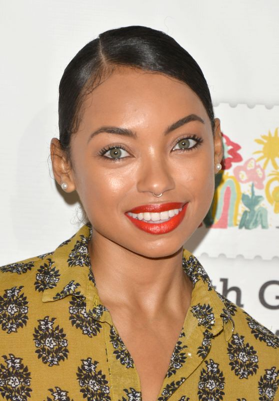 "Logan Browning – ""A Time For Heroes"" Family Festival LA 10/29/2017"